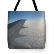 Endless Cotton Cloud Under The Wing Tote Bag