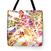 Energy Lines Tote Bag