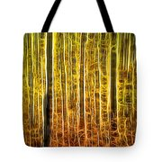 Energy Of The Forest Autumn Color Tote Bag
