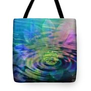 Energy Ripples Tote Bag by PainterArtist FIN
