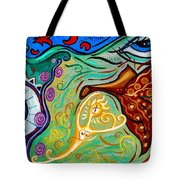Energy Sprite Tote Bag