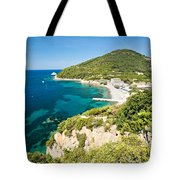 Enfola Beach - Elba Island Tote Bag