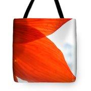 Enfolding In Orange Tote Bag
