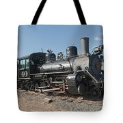 Engine 40 In The Colorado Railroad Museum Tote Bag