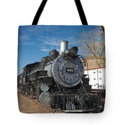 Engine 491 In The Colorado Railroad Museum Tote Bag