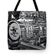Engine Envy Tote Bag by Linda Bianic