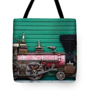 Engine Number 23 Unframed Tote Bag