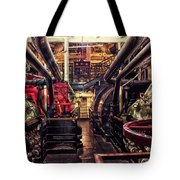 Engine Room Queen Mary 02 Tote Bag