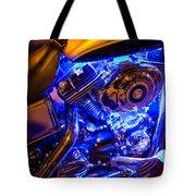 Engine Shimmer Tote Bag