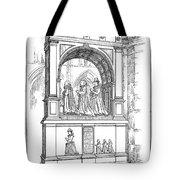 England Church Monument Tote Bag