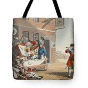 England, Illustration From Hogarth Tote Bag