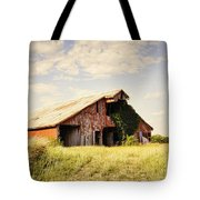 Englewood Barn Tote Bag by Cricket Hackmann