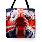 English Bull Dog Tote Bag