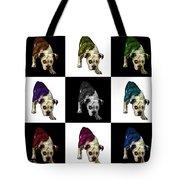 English Bulldog Dog Art - 1368 - V1 - M Tote Bag
