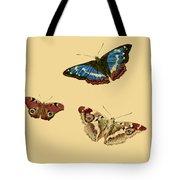 English Butterflies Tote Bag