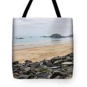 English Channel Beach Tote Bag
