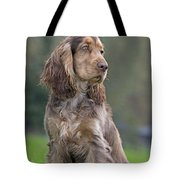 English Cocker Spaniel Dog Tote Bag