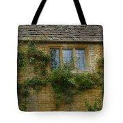 English Cottage Window Tote Bag