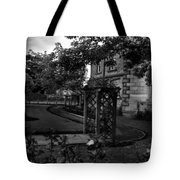 English Country Garden And Mansion - Series II Tote Bag