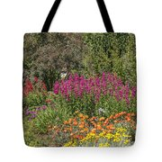 English Garden In Summertime Tote Bag