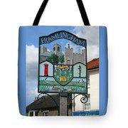 English Market Town Tote Bag