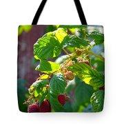English Raspberries Tote Bag