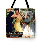 English Setter Art Canvas Print - Come September Movie Poster Tote Bag