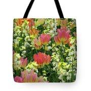 English Spring Tote Bag