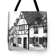 English Village Tote Bag by Shirley Miller