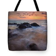 Engulfed By The Waves Tote Bag