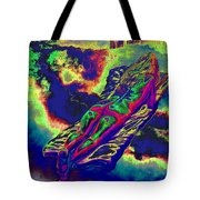 Engulfed In Burning Emotions Tote Bag