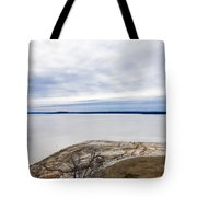 Enid Lake - Winter Landscape Tote Bag