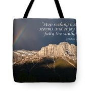 Enjoy The Sunlight Tote Bag