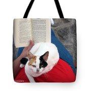 Enjoying Reading Tote Bag
