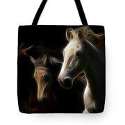 Enlightened Equestrian Tote Bag