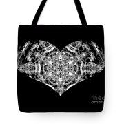 Enlightened Heart Tote Bag