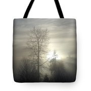 Fog Of Enlightenment Tote Bag