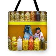 Ensenada Olive Stand 07 Tote Bag