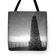 Ensign Peak Nature Park Bw Tote Bag
