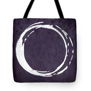 Enso No. 107 Purple Tote Bag