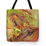 Entanglement Of Life Tote Bag