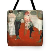 Enter!, 1913 Oil On Canvas Tote Bag
