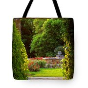 Enter Into My Garden Tote Bag