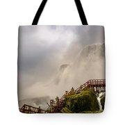 Enter The Mist Tote Bag
