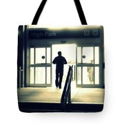 Entering A New Dimension Tote Bag
