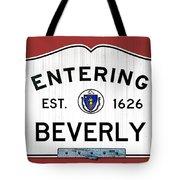 Entering Beverly Tote Bag