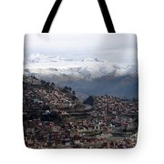 Entering La Paz Tote Bag