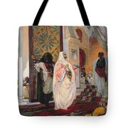 Entering The Harem Tote Bag