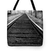 Entering The Train Yard. Washington Dc Tote Bag