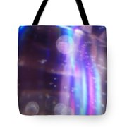 Enterprise Approaching Tote Bag by Martin Howard